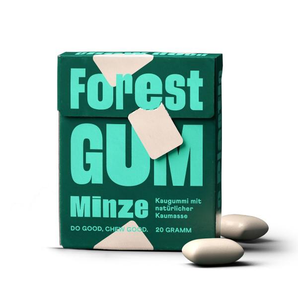 Forest Gum vegan plasticvrije kauwgom 20gr