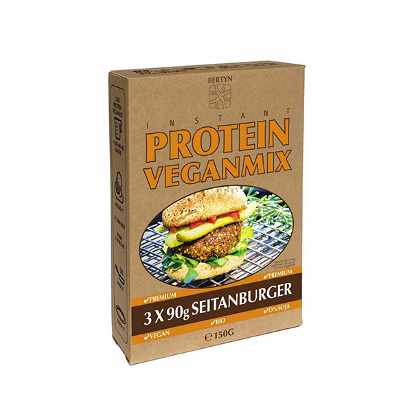 Bertyn Instant Veganmix Seitanburger 3x 90gr