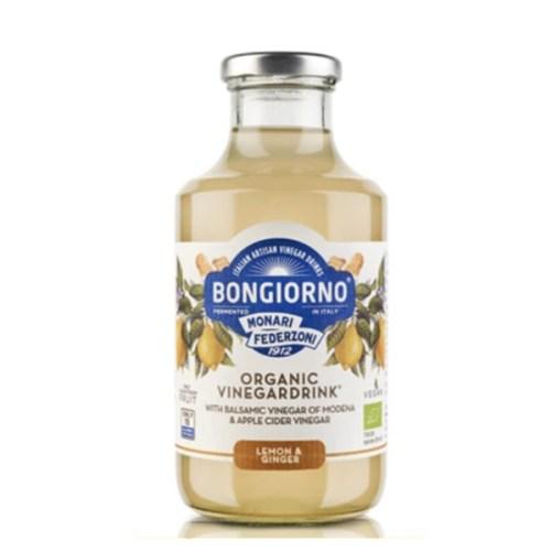 Bongiorno Vinegardrink Lemon and Ginger 500ml vegan