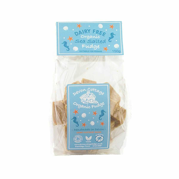 Devon Cottage Salted Fudge vegan lactosevrij 150gr