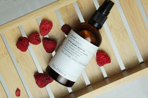 super berry body oil evolve beauty