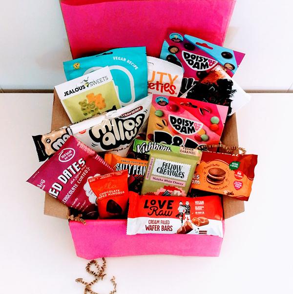 vegan gift box chocolade