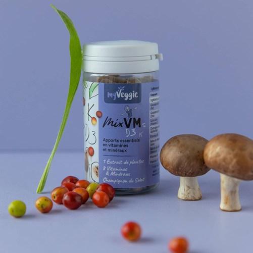 myvgegie VM Blend vitaminen en mineralen supplement vegan