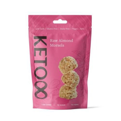 Keto8 Almond morsels keto raw vegan120gr