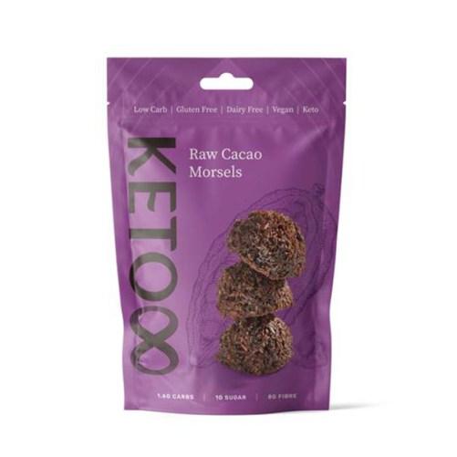 keto cacao morsels Keto8 raw vegan 120gr