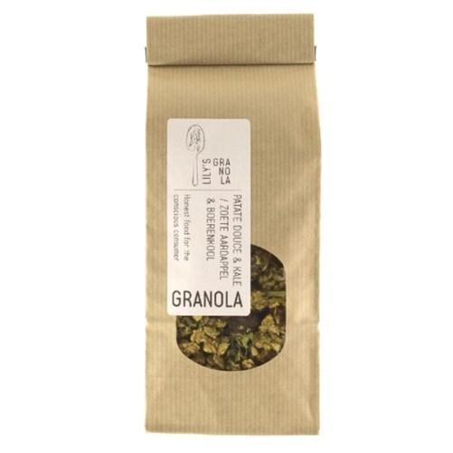 Lilys Granola Zoete Aardappel en Boerenkool 300gr vegan
