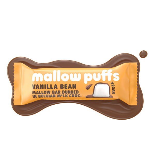 vanilla bean mallow bar Mallow Puffs 30gr vegan