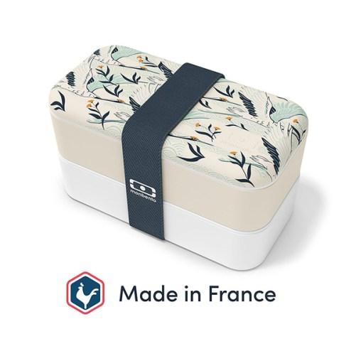monbento destiny kraanvogel motief monbento original lunch box