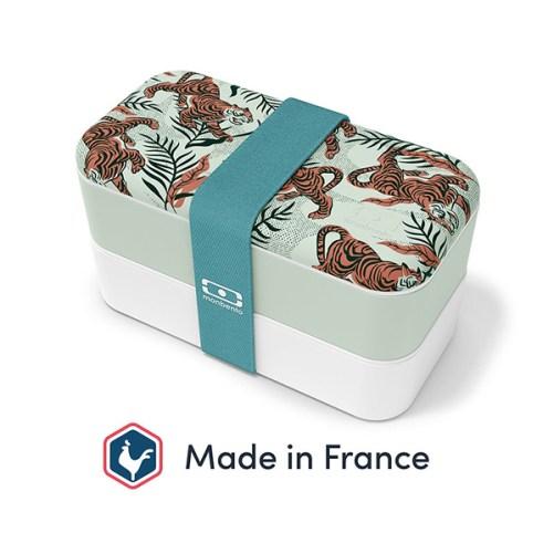 monbento power tijger motief monbento original lunch box