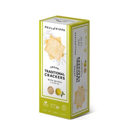 paul pippa crackers vegan crackers met quinoa 130gr