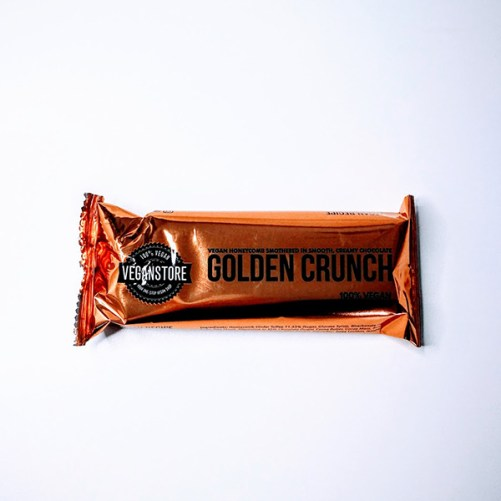 golden crunch bar veganstore honeycomb