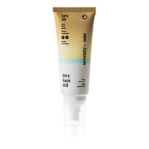 seventy one percent dry sun oil 30 SPF vegan zonneolie 100ml