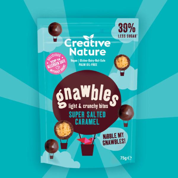 Gnawbles Super Salted Caramel creative nature vegan chocolade