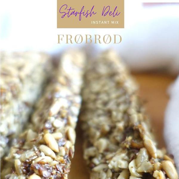 starfish deli frobrod instant bakmix voor zonnepittenbrood vegan