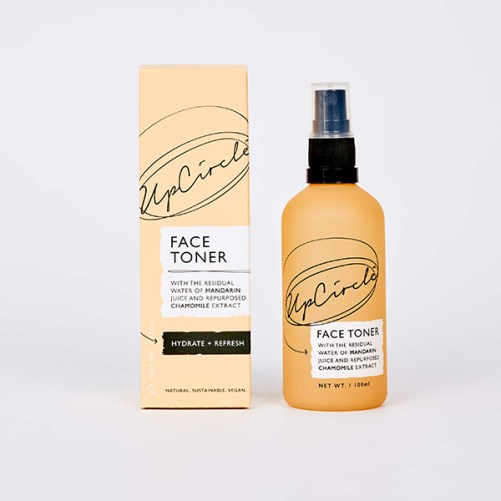 upcircle beauty face toner with mandarin & chamomile vegan gezichtstoner