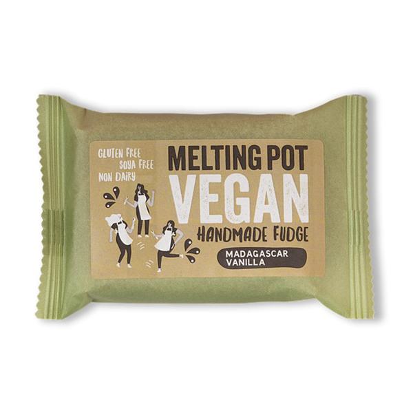 Melting Pot Madagascar Vanilla vegan fudge 90gr