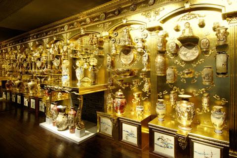 薩摩伝承館の展示物