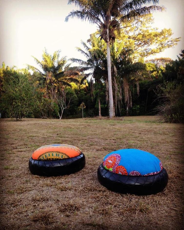 TAKARI- Poufs en pneus