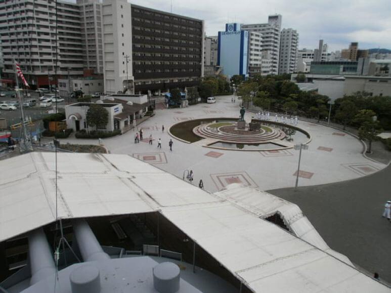 神奈川県旅行観光横須賀市三笠公園記念艦三笠