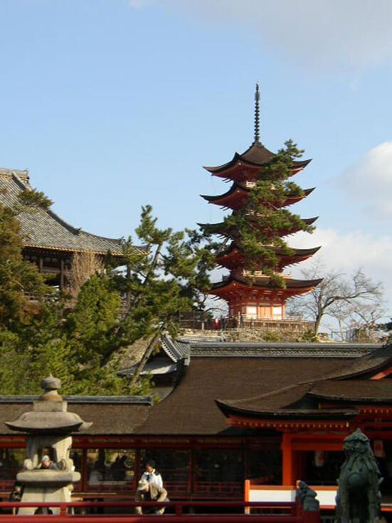 広島県旅行観光宮島厳島神社