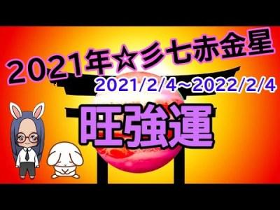【占い】(字幕)2021年☆七赤金星の方の一年間の運の流れについてお伝えしています☆彡