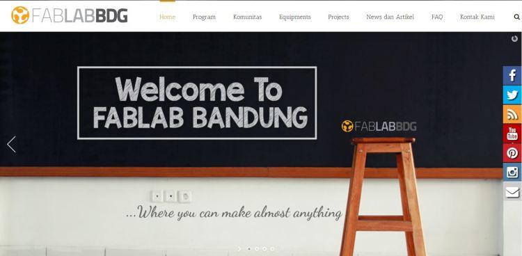 homepage fablab bandung