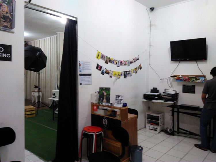 fasilitas click five studio
