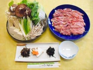高取鍋 (みそ仕立てのシャモ鍋)