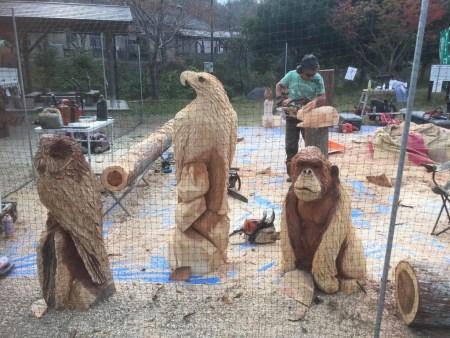 森の感謝祭 in たかとり(高取チェンソーCLUB主催)