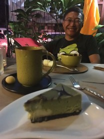 Green Tea and Matcha Cheesecake