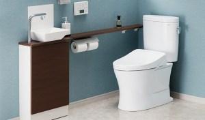 高山工務店トイレ