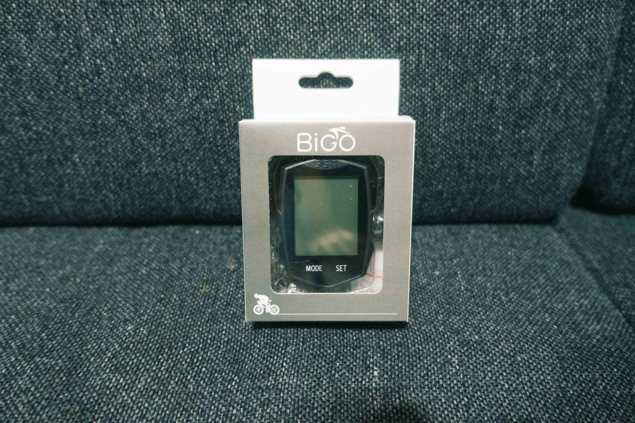 BIGOのサイクルコンピュータ