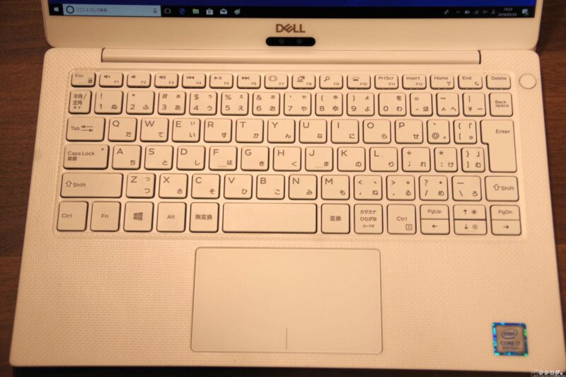 Dell New XPS 13 キーボード