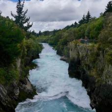Neuseeland Huka Falls