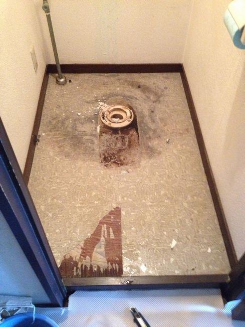 トイレ排水不具合