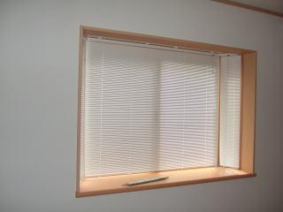 オーダー出窓用にブラインドお作りしました