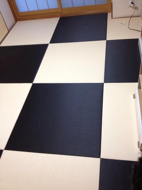 塩ビのカラー畳