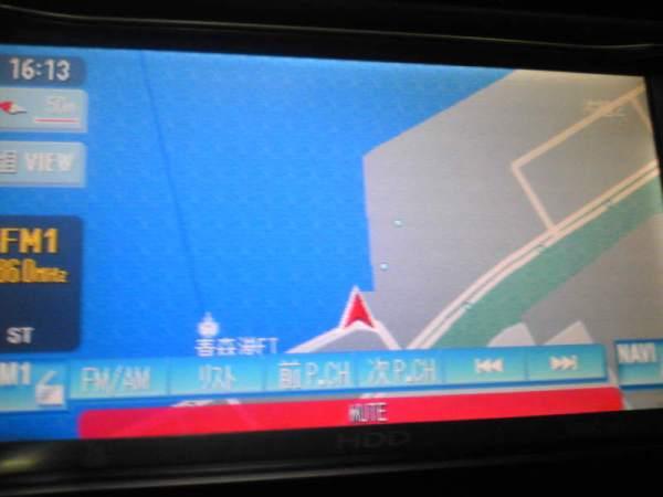 青森港からフェリーに乗ったナビ
