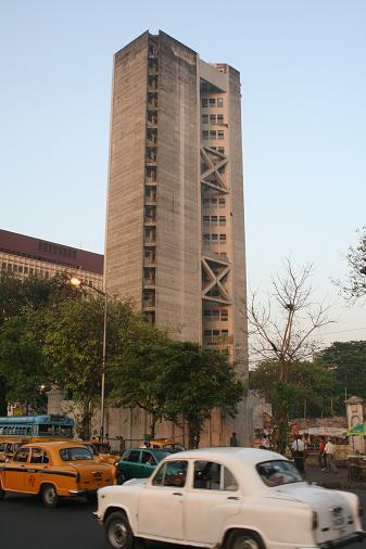 L architecture de Calcutta. Waouh