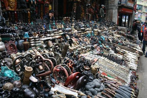 Souvenirs market