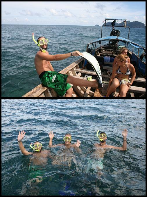 Snorkling time !
