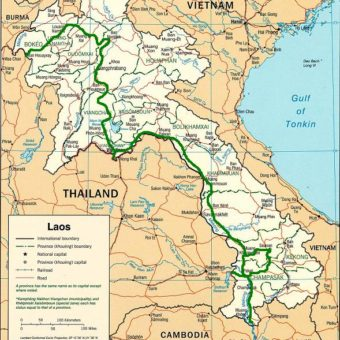 laos itineraire