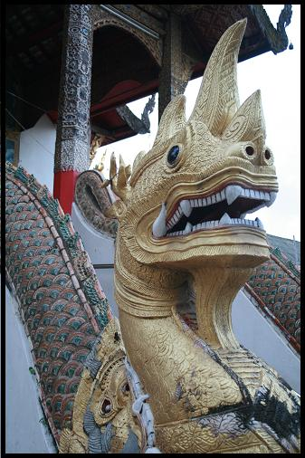 Chiang Mai dragon temple