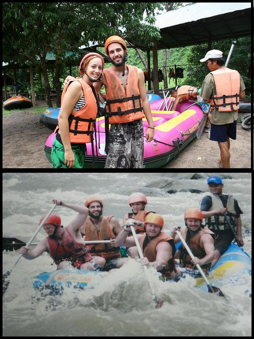 Crazy Thai rafting