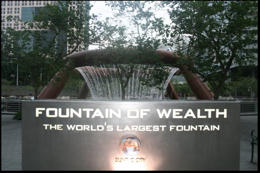 The world's largest fontains in the world