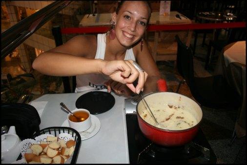 First fondue after 6 months of travel !!!