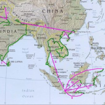 7 mois en asie
