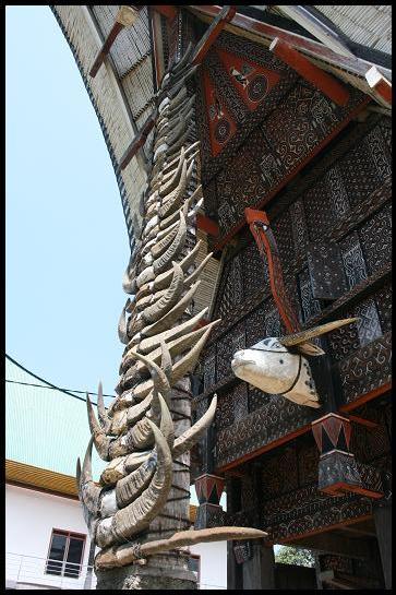 Toraja house details