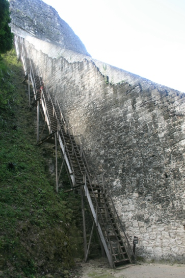 The huge stairs