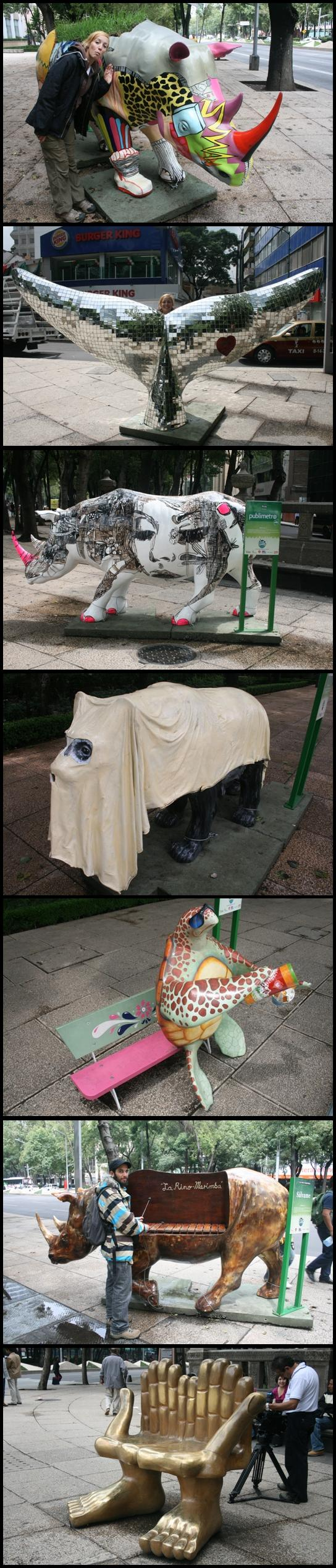 Sculpture on La Reforma